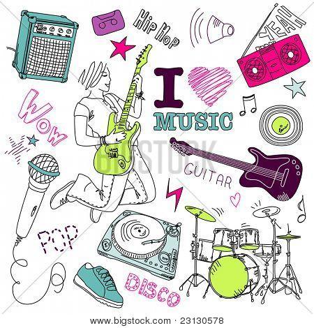 Musik-Doodles