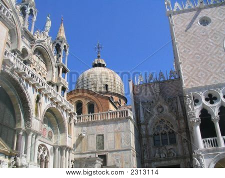 Art And Architecture Cathedral St Marks Venice