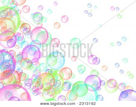 Colored Bubbles - Texture Background