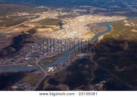 Downtown Whitehorse, Yukon Territory, Canada
