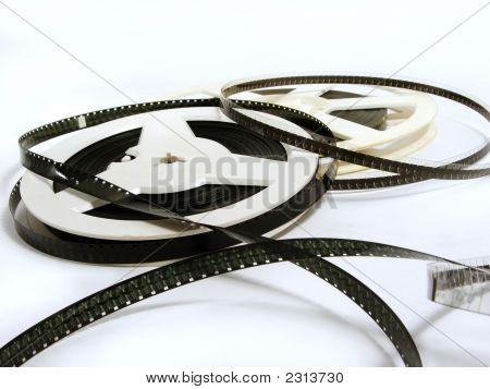 Two Old Film Reels