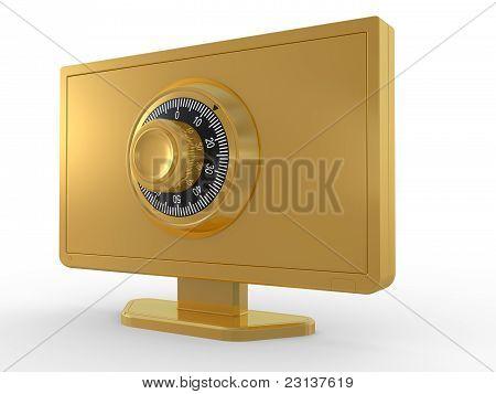 Monitor And Key