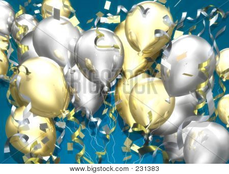 Celebration Balloons Stock Photo & Stock Images | Bigstock