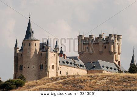 The Famous Alcazar Of Segovia