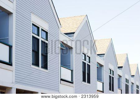 Casas em linha A
