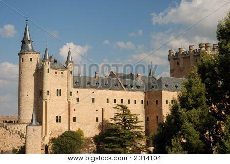 The Famous Alcazar In Segovia
