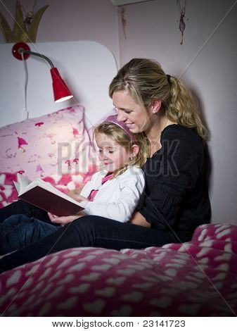 Mãe e filha Storytelling