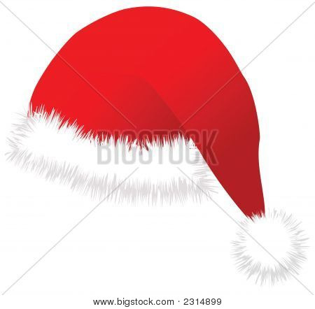 Christmas Cap Vector Image