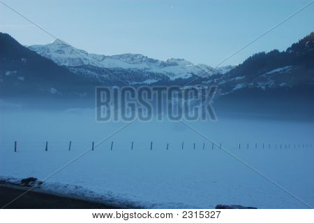 Morning Fog The Lenk Valley