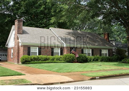 Middle Class American Home