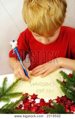 Writing Christmas Wishes