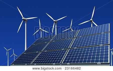 Monokristalline Solarzellen