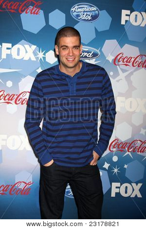 LOS ANGELES - MAR 11: Mark Salling American Idol Top 12 Party for Season 9 held at the Industry Club on March 11, 2010 in Los Angeles, California