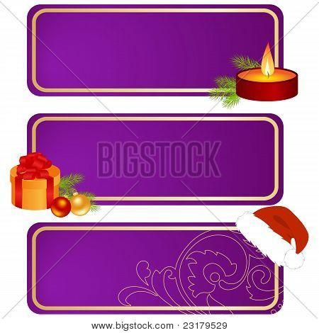 Drei Weihnachts-Tabletten