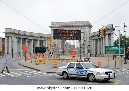 Hurricane Irene In New York City