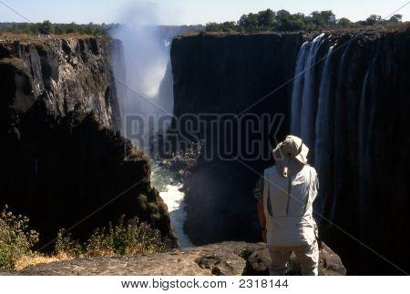 At Victoria Falls