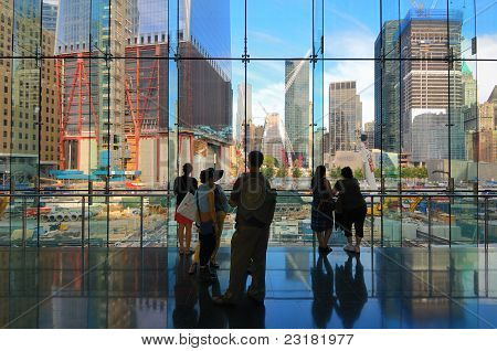 World Trade Center Construction Site