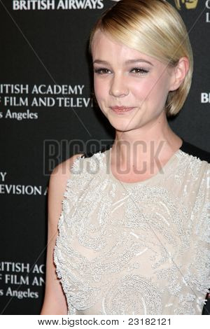 LOS ANGELES - NOV 4: Carey Mulligan at the 18th annual BAFTA Los Angeles Britannia Awards held at the Hyatt Regency Century Plaza Hotel on November 4, 2010 in Los Angeles, California