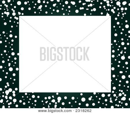 White Dots Frame