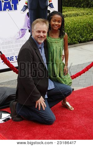LOS ANGELES - JUNE 6: Yara Shahidi and Karey Kirkpatrick at the premiere of 'Imagine That' at Paramount Studios on June 6, 2009 in Los Angeles, California