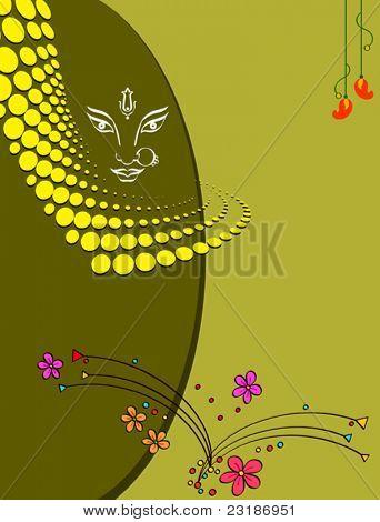 Durga Diwali Greeting