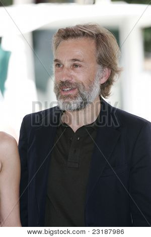 VENICE -SEP 1: Christoph Waltz at the 68th Venice International Film Festival in Venice, Italy on September 1, 2011.