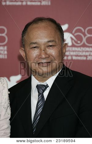 VENICE -SEP 1: John Woo at the 68th Venice International Film Festival in Venice, Italy on September 1, 2011.
