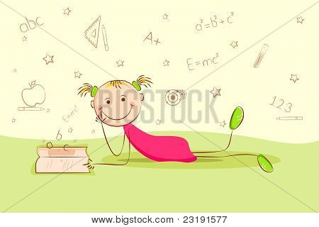 kid laying on floor