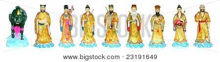 The Eight Immortals Isolated