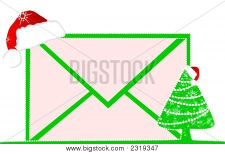 Christmas Mail To You With A Red Cap