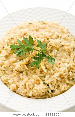 Risotto With Grana Parmesan Cheese