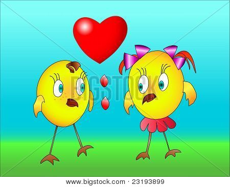 Two Little Birds With A Heart.eps