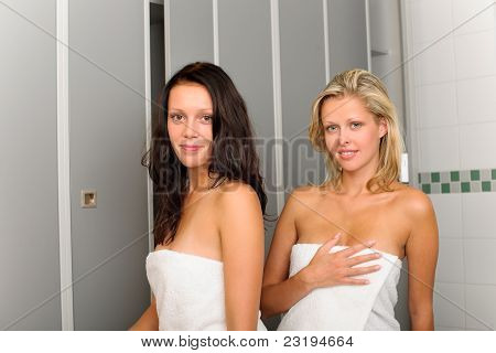 Two Relaxed Women
