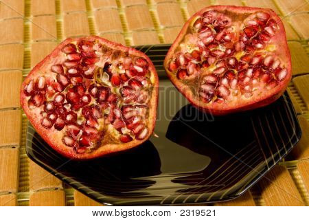 Pomegranate Halves