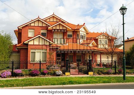 Beautiful Two Story Brick Home