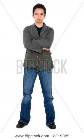 Casual homem branco