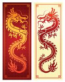 Chinese Dragon Template poster