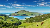 Coastal view, Pacific coast of New Zealand, Otago Peninsula