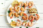 Shrimp Skewers poster