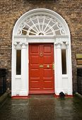 Dublin Georgian Red Door