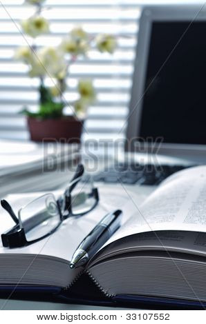 Business & Office Still Life concept
