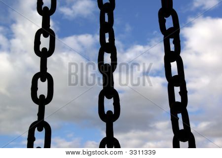 Three Black Chain