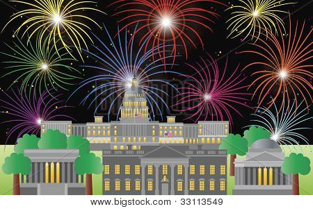 Washington Dc Fourth Of July Fireworks