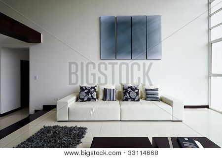 Interior design series: Modern living room