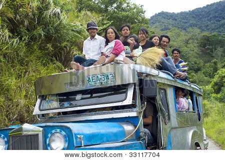 Overflowing Jeepney