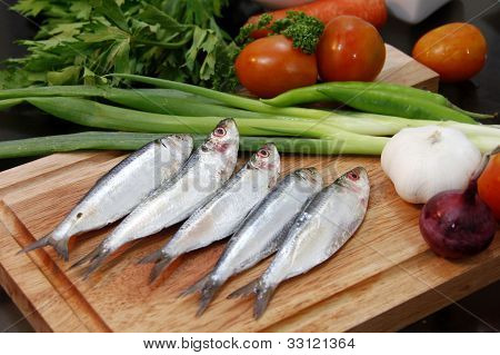 Fish With Garnishing