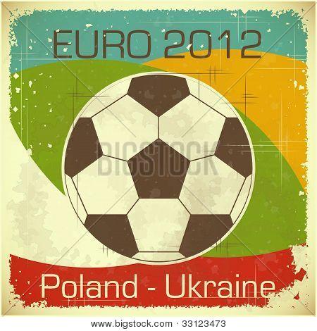 Euro 2012 Football Card