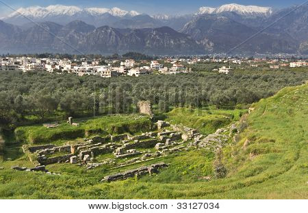Sparta city in Greece