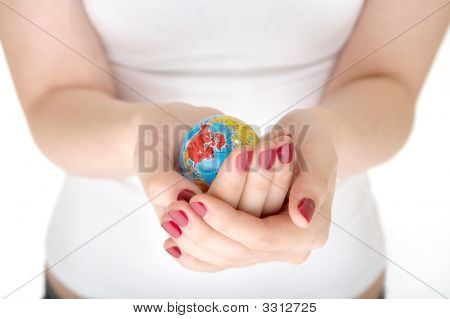 The Globe In Hands