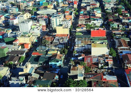 Favelas em Manila